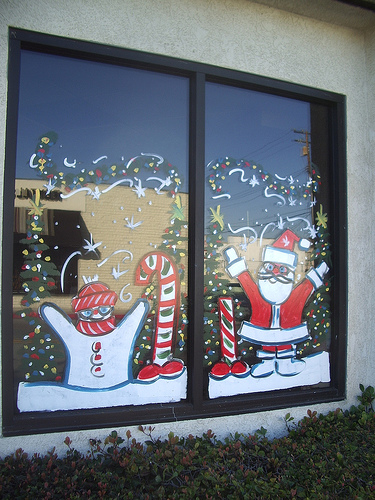 Christmas Window Painting Memphis Sign Company 1 850 428